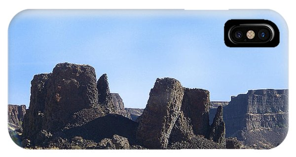 Basalt Columns - The Ice Age Flood IPhone Case