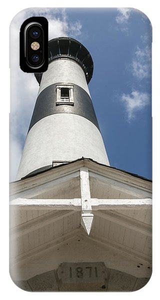 Base Of Bodie Island Lighthouse IPhone Case