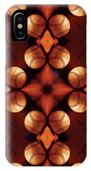 Baseball Cross IPhone Case