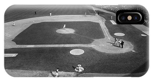 iPhone Case - Baseball Game, 1967 by Granger