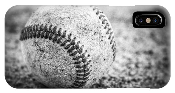 Baseball In Black And White IPhone Case