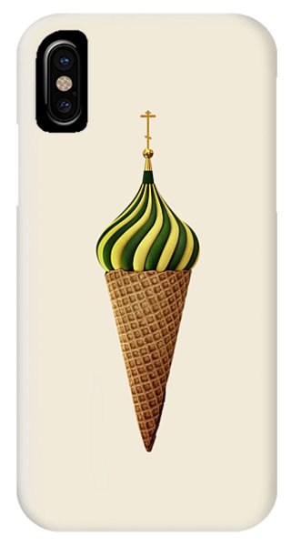 Moscow iPhone Case - Basil Flavoured by Nicholas Ely