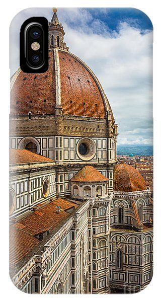 Italy iPhone Case - Basilica Di Santa Maria Del Fiore by Inge Johnsson