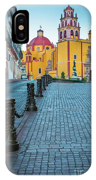 Guanajuato iPhone Case - Basilica Of Our Lady Of Guanajuato by Inge Johnsson