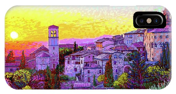 Colourful iPhone Case - Basilica Of St. Francis Of Assisi by Jane Small