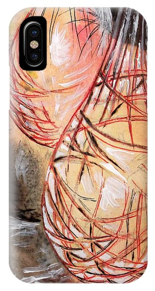 Basket Light Red Glow IPhone Case