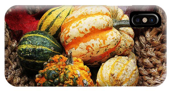 Basket Of Pumpkins IPhone Case