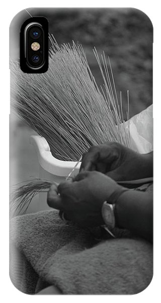 Basket Weaver IPhone Case