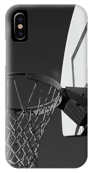 Basketball iPhone Case - Basketball Court by Richard Rizzo
