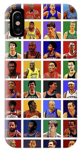 Basketball Legends IPhone Case