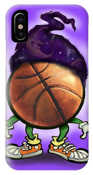 Basketball Wizard IPhone Case