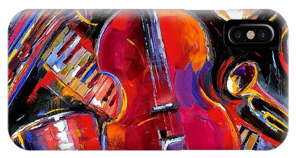 Drum iPhone Case - Bass And Friends by Debra Hurd