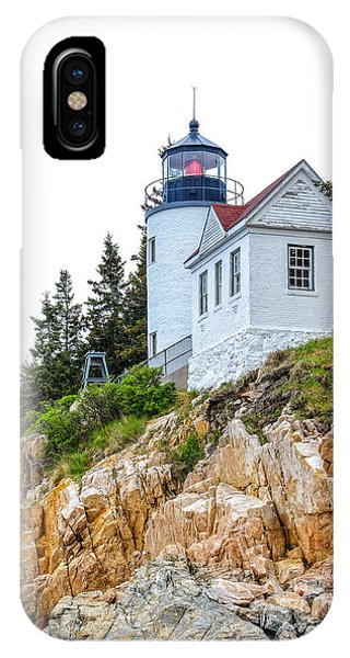 Bass Harbor Head Lighthouse 1 IPhone Case