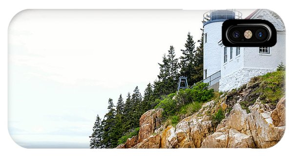 Bass Harbor Head Lighthouse 2 IPhone Case
