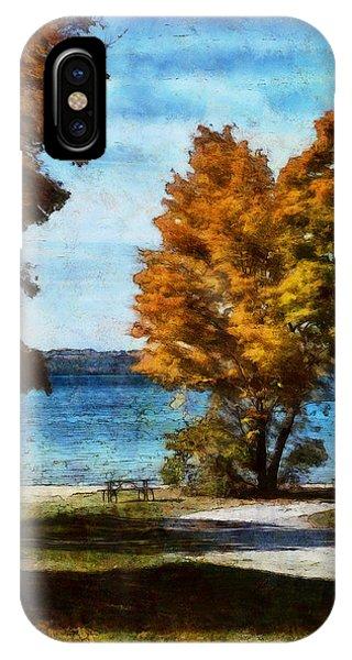 Bass Lake October IPhone Case