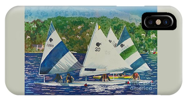 Bass Lake Races  IPhone Case