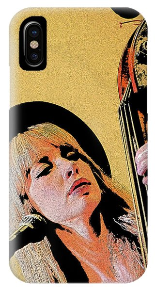 Bass Player IPhone Case