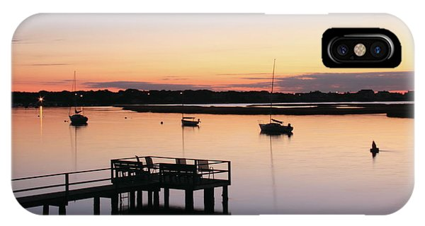 Bass River Before Sunrise IPhone Case