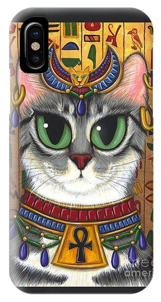 Bast Goddess - Egyptian Bastet IPhone Case
