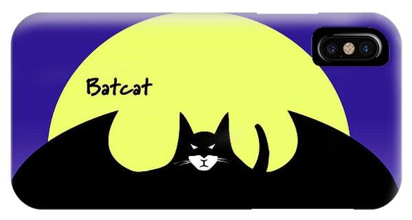 Batcat IPhone Case