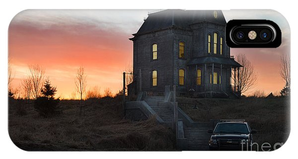Bates Motel At Night IPhone Case