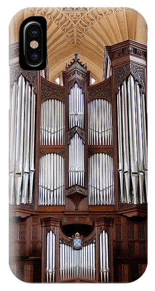 Bath Abbey Organ IPhone Case