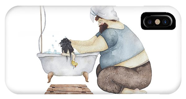 Day iPhone Case - Bath Time by Soosh