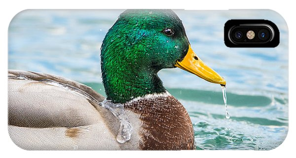 IPhone Case featuring the photograph Bath Time by Steven Santamour