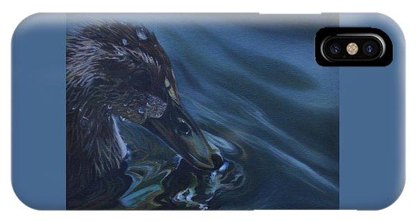 Bathing Duckline IPhone Case