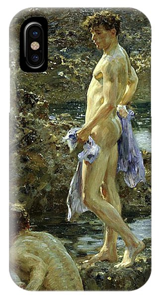 Bathing Group Of 1914 IPhone Case