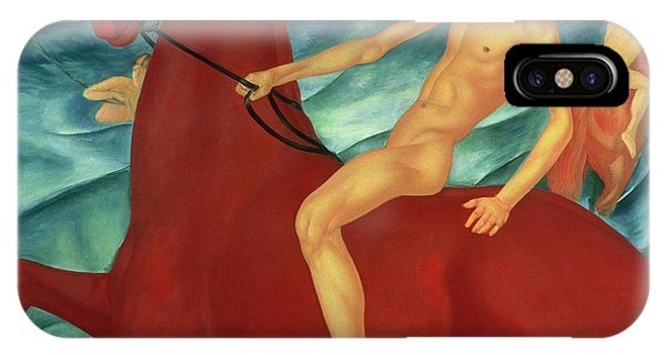 Moscow iPhone Case - Bathing Of The Red Horse by Kuzma Sergeevich Petrov-Vodkin