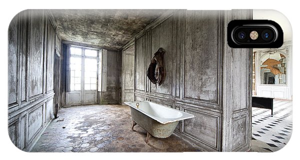 Bathroom Decay - Urban Exploration IPhone Case