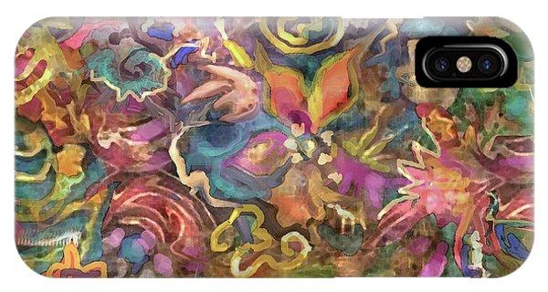 Batik Colorburst IPhone Case