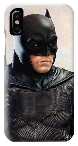 Ben Affleck iPhone Case - Batman 2 by David Dias