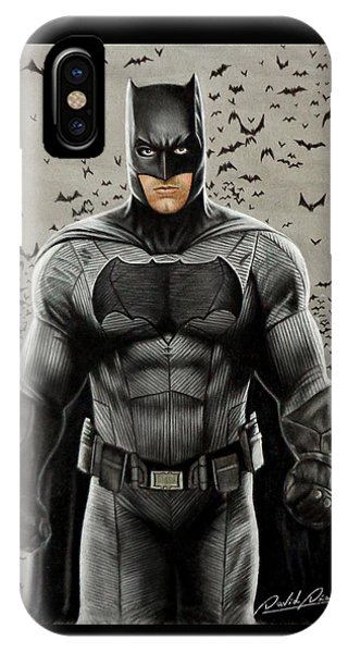Ben Affleck iPhone Case - Batman Ben Affleck by David Dias