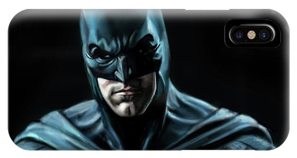 Ben Affleck iPhone Case - Batman Justice League by Vinny John Usuriello