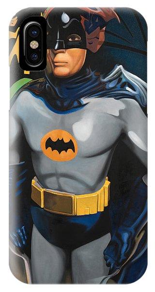 Superhero iPhone Case - Batman by Karl Melton