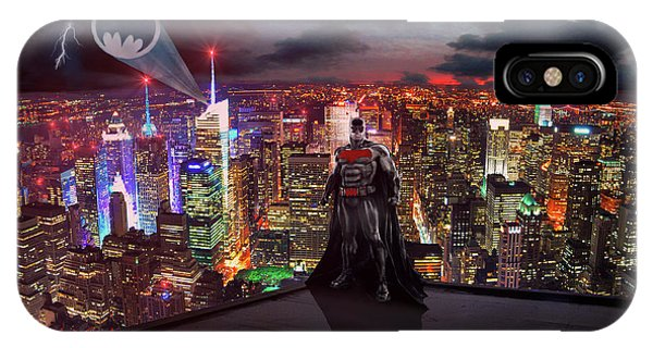 Ben Affleck iPhone Case - Batman by Michael Rucker