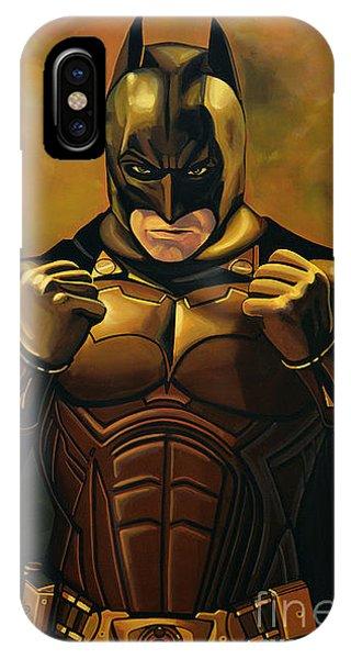 Dark iPhone Case - Batman The Dark Knight  by Paul Meijering