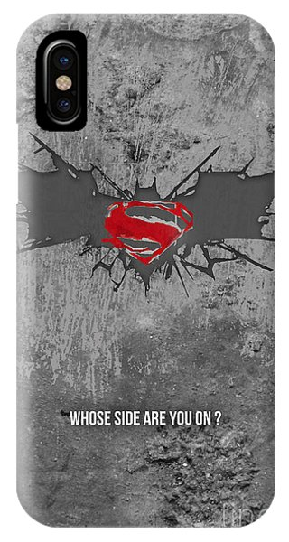 Ben Affleck iPhone Case - Batman V Superman by Parikshit Deshmukh