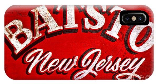 Batsto New Jersey IPhone Case