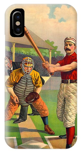 Batter Up 1895 IPhone Case