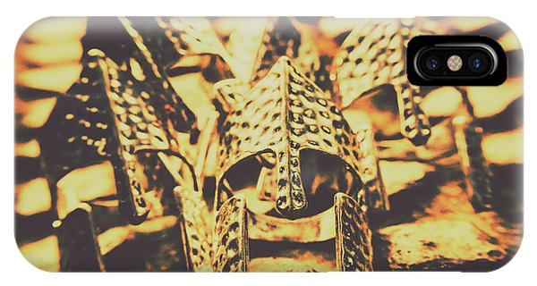 Bravery iPhone Case - Battle Armoury by Jorgo Photography - Wall Art Gallery