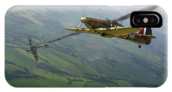 Battle Of Britain Dogfight IPhone Case