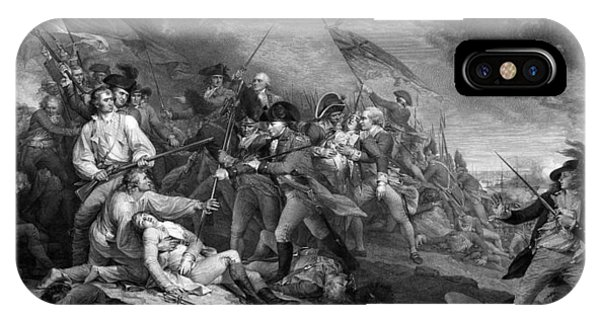 Boston iPhone Case - Battle Of Bunker Hill by War Is Hell Store
