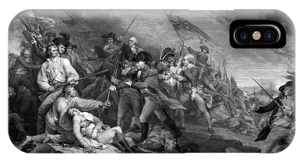 Hill iPhone Case - Battle Of Bunker Hill by War Is Hell Store