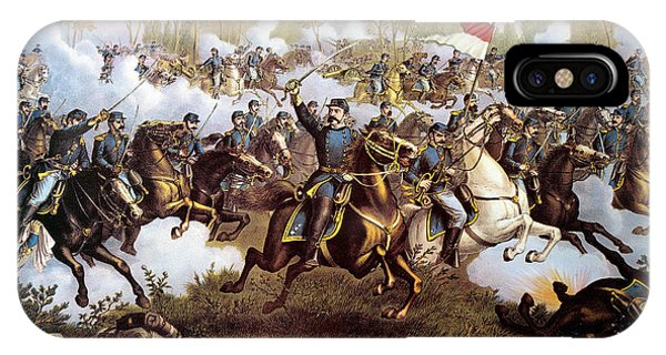 Allison iPhone Case - Battle Of Cedar Creek 1864 by Granger