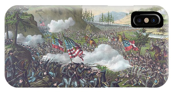 Allison iPhone Case - Battle Of Chickamauga by American School