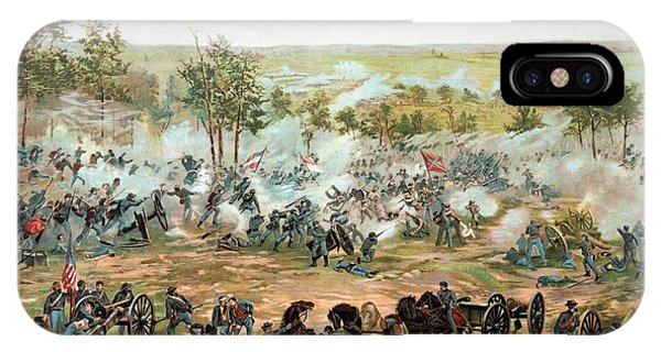 History iPhone Case - Battle Of Gettysburg by War Is Hell Store