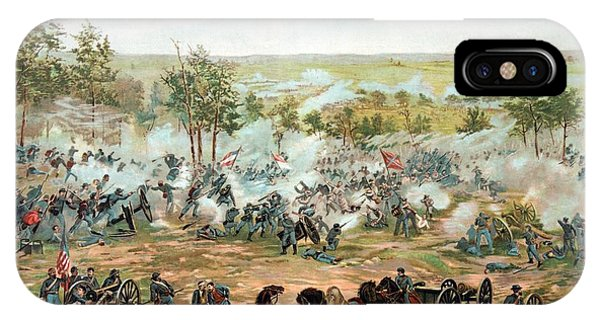 Battle Of Gettysburg IPhone Case